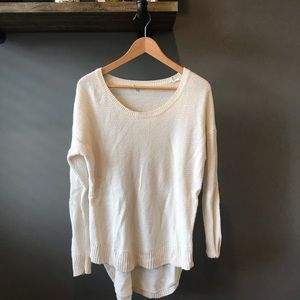 Madewell High-low Scoopneck Sweater